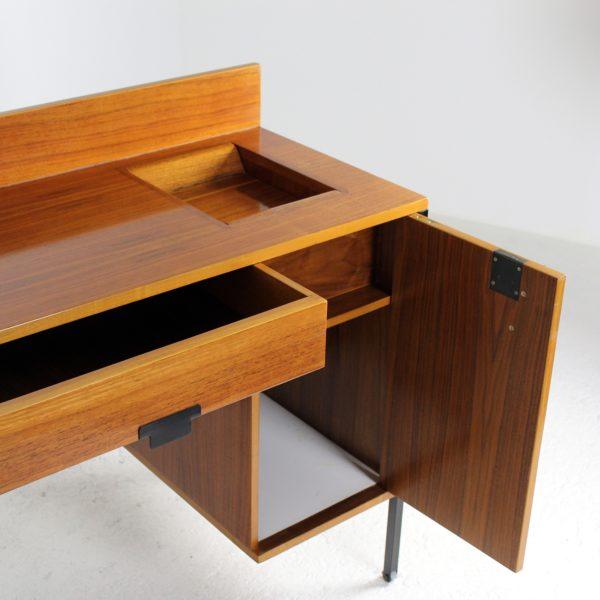 Bureau vintage, années 50, d'Ico Parisi édité par MIM, design italien.