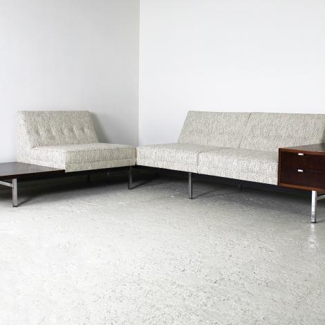 Canapé Modular de George Nelson, Herman Miller, 1970 3