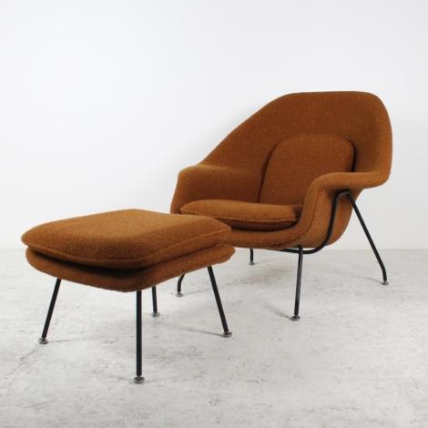 Fauteuil Womb Chair de Eero Saarinen pour Knoll, circa 1950