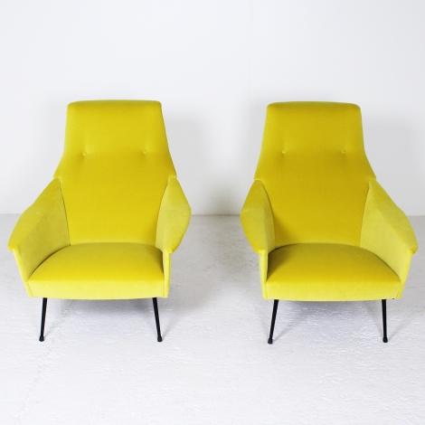 Paire de fauteuils de Guy Besnard, 1960 2