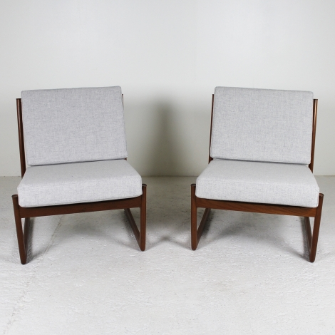 Paire de fauteuils de Peter Hvidt, 1960 4