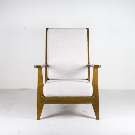 Paire de fauteuils de René Gabriel, 1946