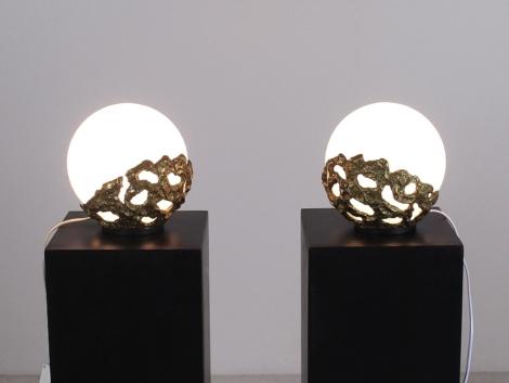 Paire de lampes d'Angelo Brotto