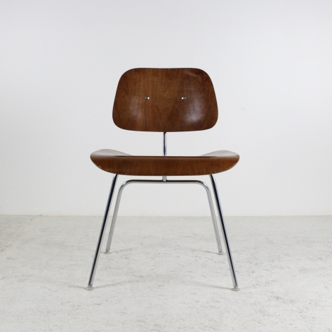 Série de 6 chaises DCM de Charles et Ray Eames pour Herman Miller, 1950