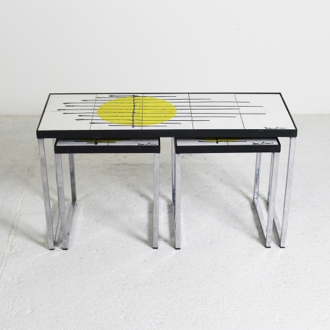 Tables gigognes de Belarti, 1960