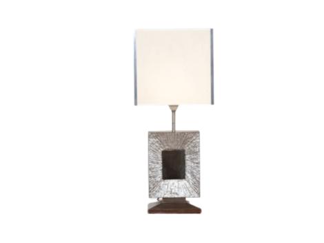 Lampe pied bronze