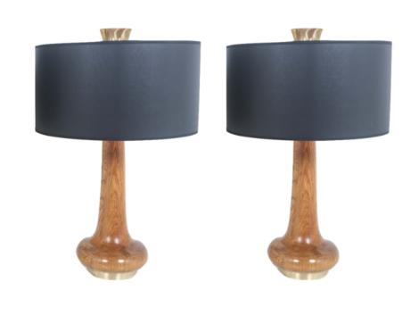 Paire de Lampes italiennes des années 70