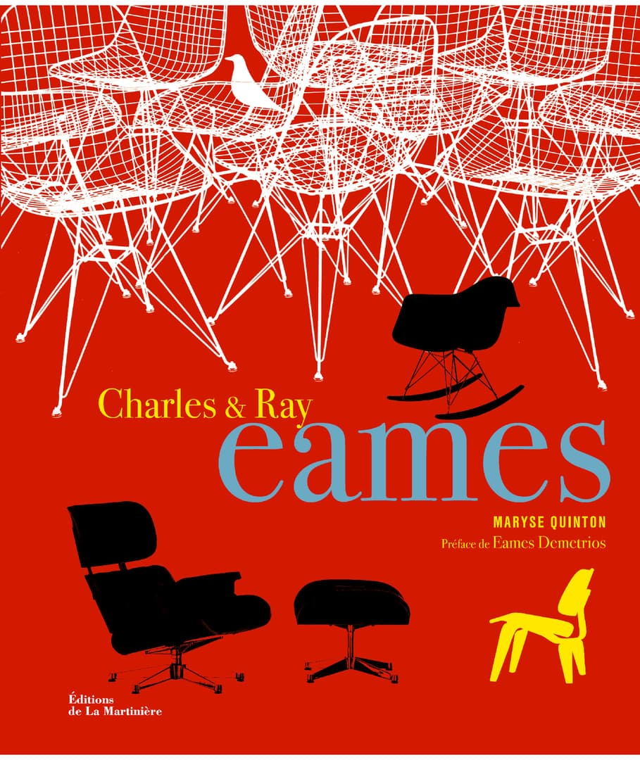Charles et Ray Eames par Maryse Quiton