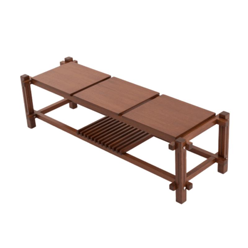 Table basse en bois mobilier design et vintage