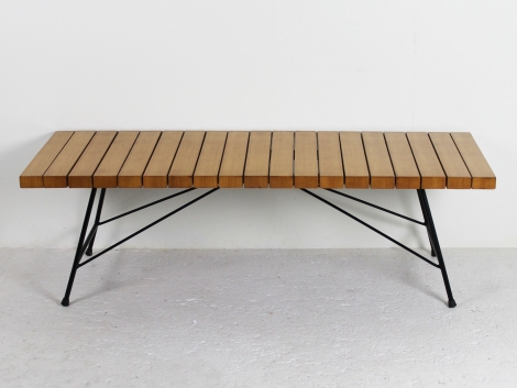 Table basse-banc Alain Richard 1954