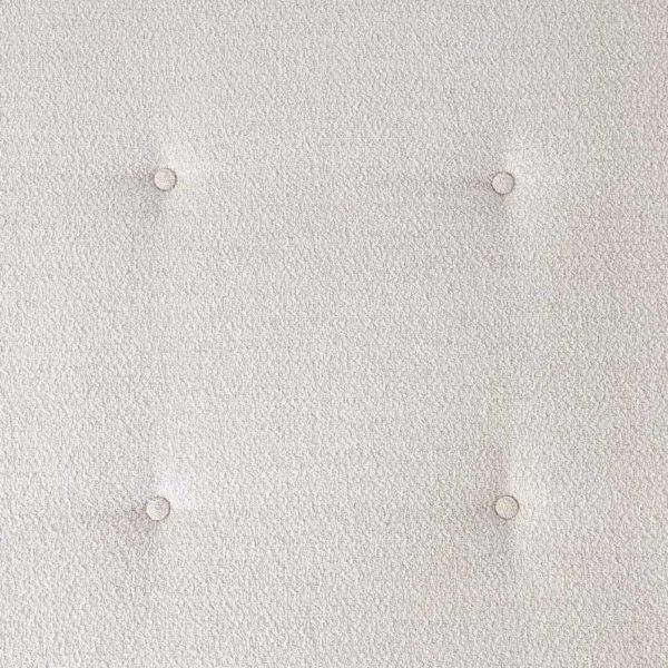 Lit de repos de Joseph André Motte, édité par Groupe 4-Charron dans les années 50, en frêne, acajou et tissu écru