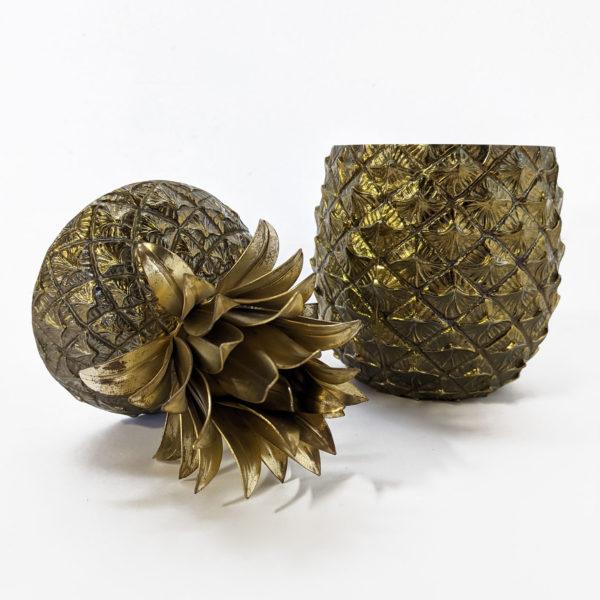 Seau à glace ananas vintage des années 70 de Mauro Manetti