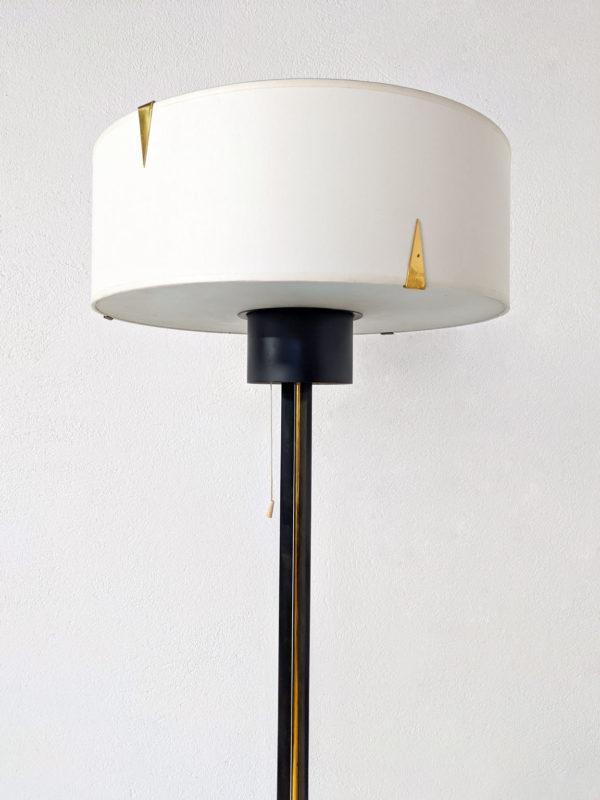 Lampadaire vintage des années 50 de la maison Arlus