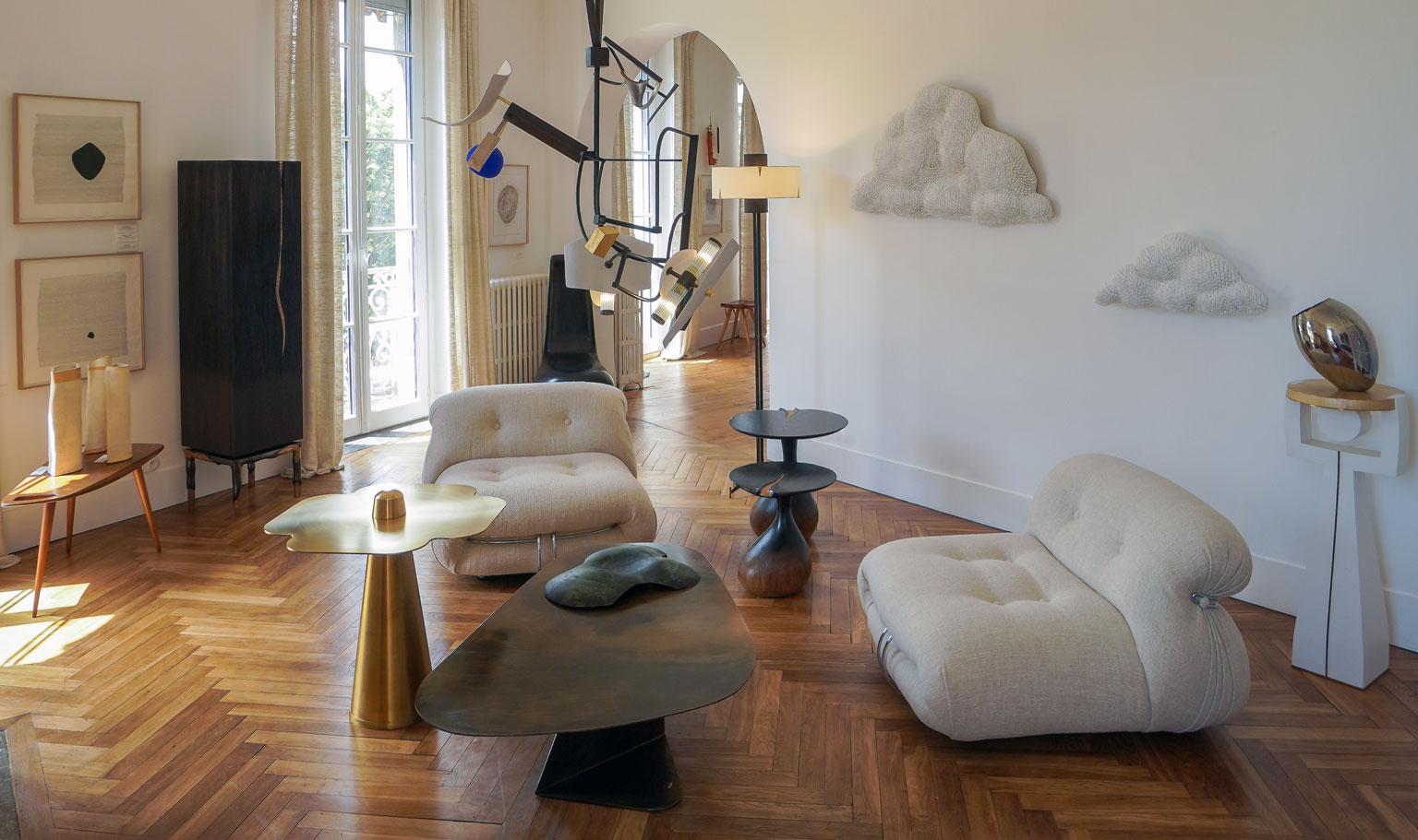 Exposition d'art et de design à la galerie OAK à Toulouse